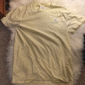 Yellow simply southern t shirt with crab!